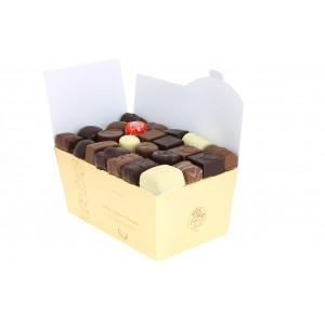 Ballotin de Chocolats Léonidas assortis de 1 kg .