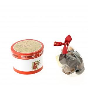 Coffret rond de Noël et ses chocolats Léonidas 205g