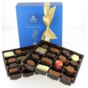 Coffret Héritage Santiago 600 g de Chocolats Leonidas