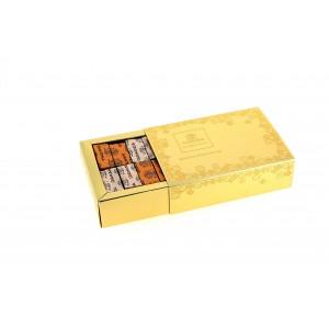 Coffret Gias d'or garni de 240 g de Chocolats Léonidas