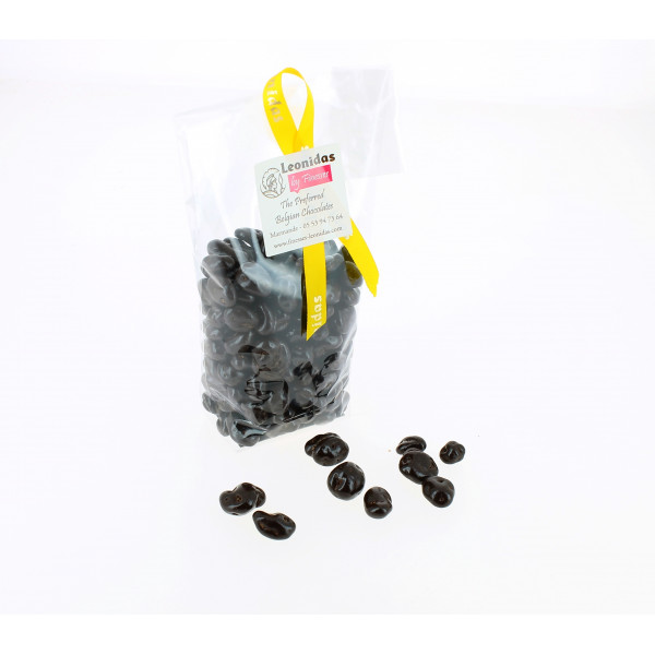 Raisins au Sauternes enrobés de chocolat 200g.
