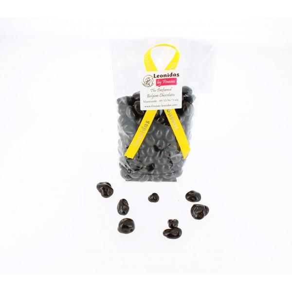 Grains de café de Colombie enrobés de chocolat 200g.
