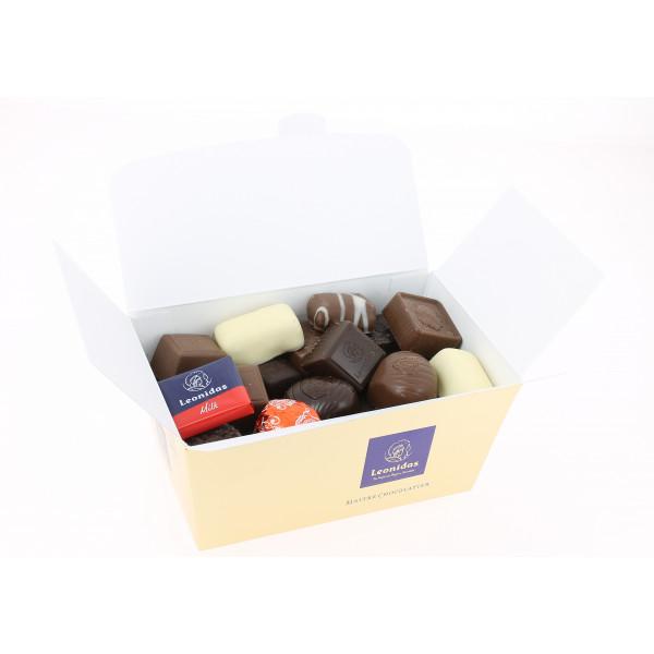 Carton de 18 ballotins 500 g de Chocolats Leonidas assortis