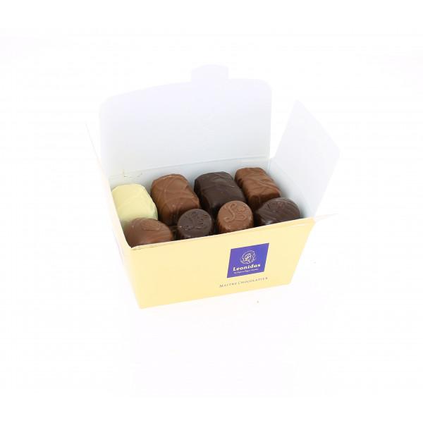 Carton de 40 ballotins de 250 g net de chocolats Léonidas