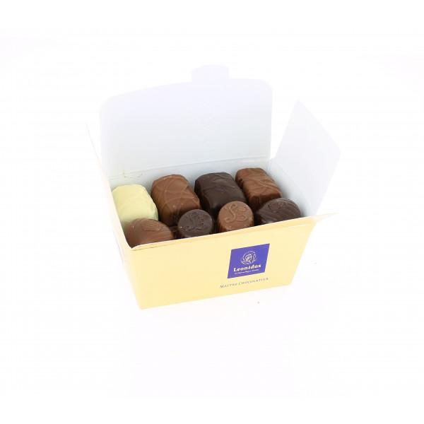 Carton de 40 ballotins de 250g Chocolats Léonidas casher.