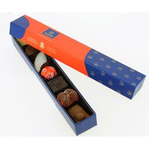 """Réglette """"New Collection"""" garnie de 120 g de Chocolats Leonidas"""
