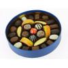 """Coffret """"New Collection"""" rond garni de 475g de Chocolats Leonidas"""