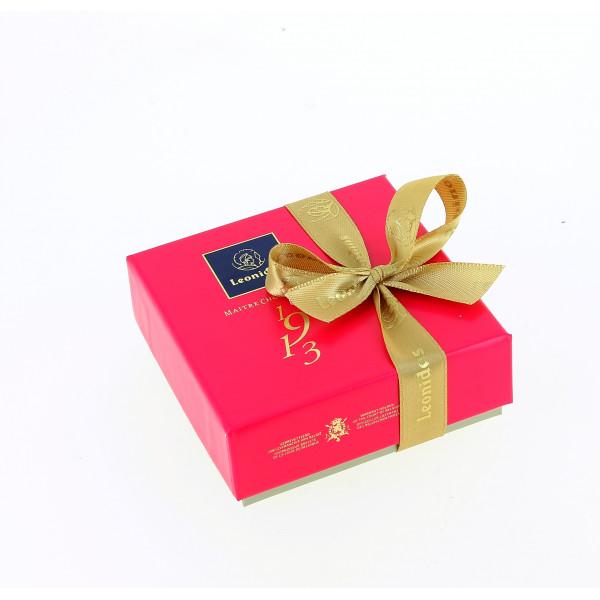 Coffret délicatesse 4 chocolats Leonidas