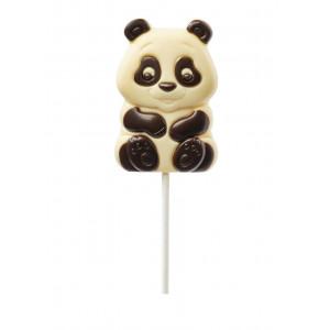 Sucette Panda chocolat blanc Leonidas