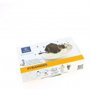 Pyramides Box garnie de 200 g de chocolats Leonidas