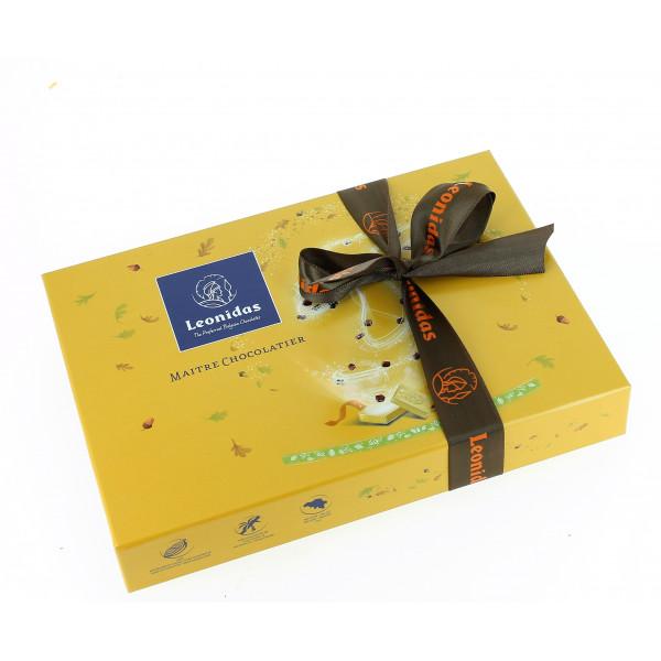 """Coffret """"Spécialités d'automne"""" garni de 400g de chocolats Leonidas"""