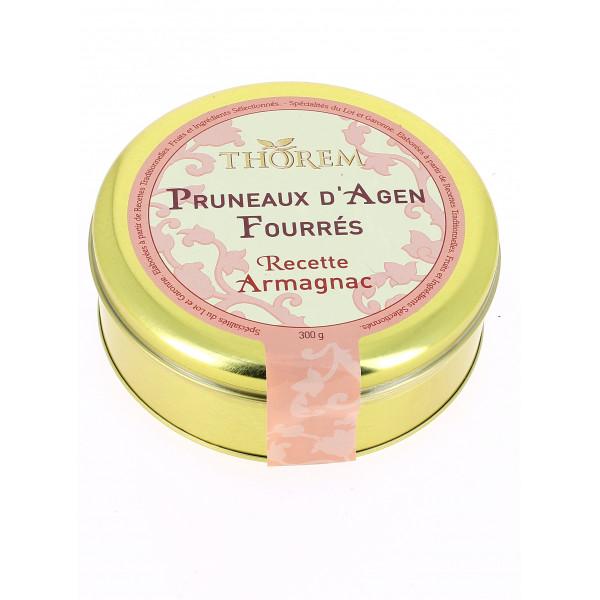 Pruneaux fourrés recette Armagnac.