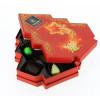 Coffret Sapin de Noël garni de 160 g de Chocolats Leonidas
