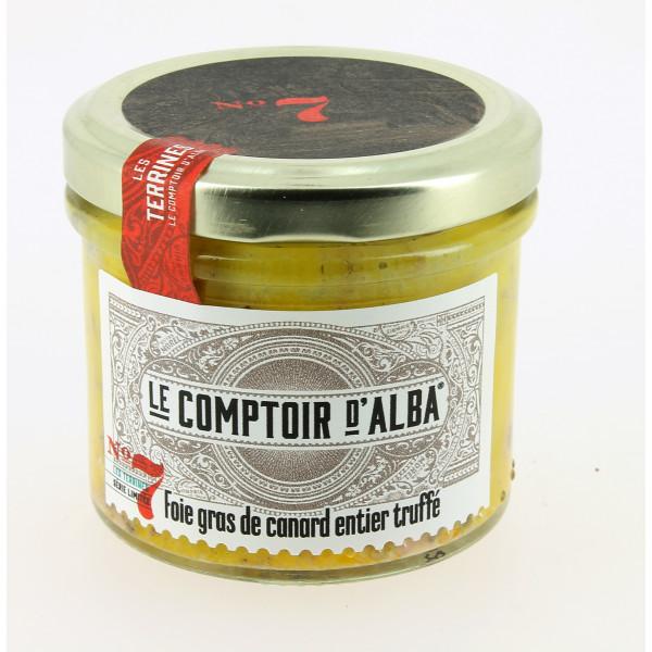 Foie gras de canard truffé 100 g