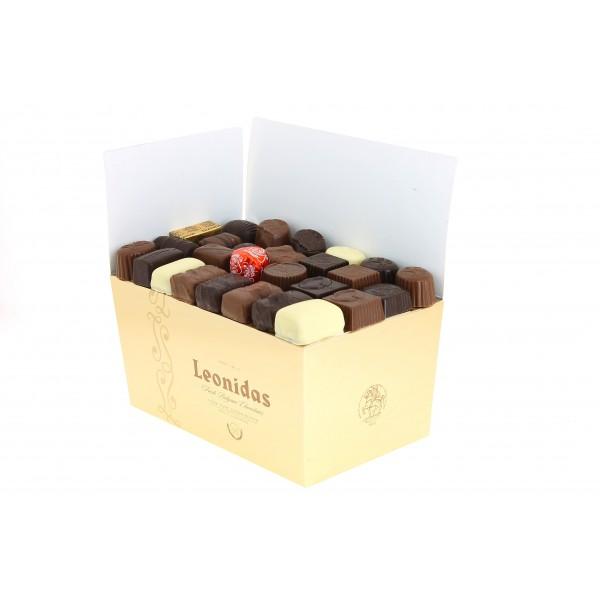 Ballotin de Chocolats  Leonidas assortis  1.750 kg