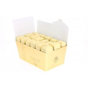 Ballotin de Chocolats Léonidas blancs 1 kilo.