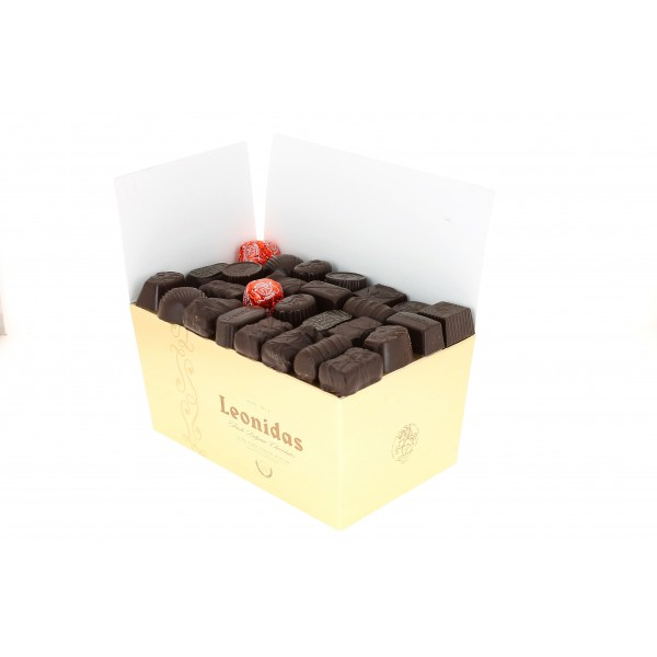 Ballotin de Chocolats Leonidas Noirs 1.500 kg