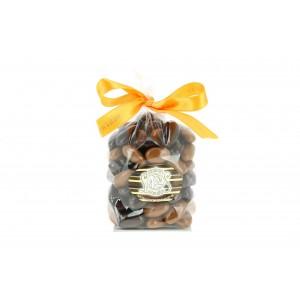AMANDES grillées enrobées de chocolat 220 gr N° 10