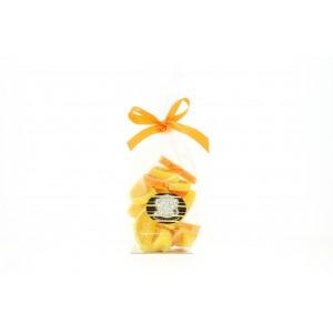 Sachet de 250 g de demies tranches d'oranges et citrons en gelée