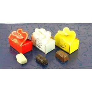 """Mini Ballotins 3 chocolats assortis """"Invités"""""""