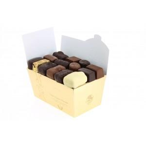 Ballotin de chocolats Leonidas assortis sans alcool 500 g