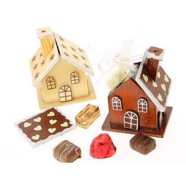 La petite maison du pére Noël Léonidas