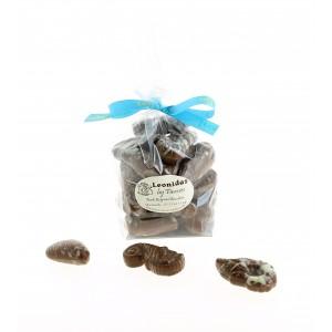 Sachet de fruits de mer pralinés en Chocolat Leonidas au lait 250 g
